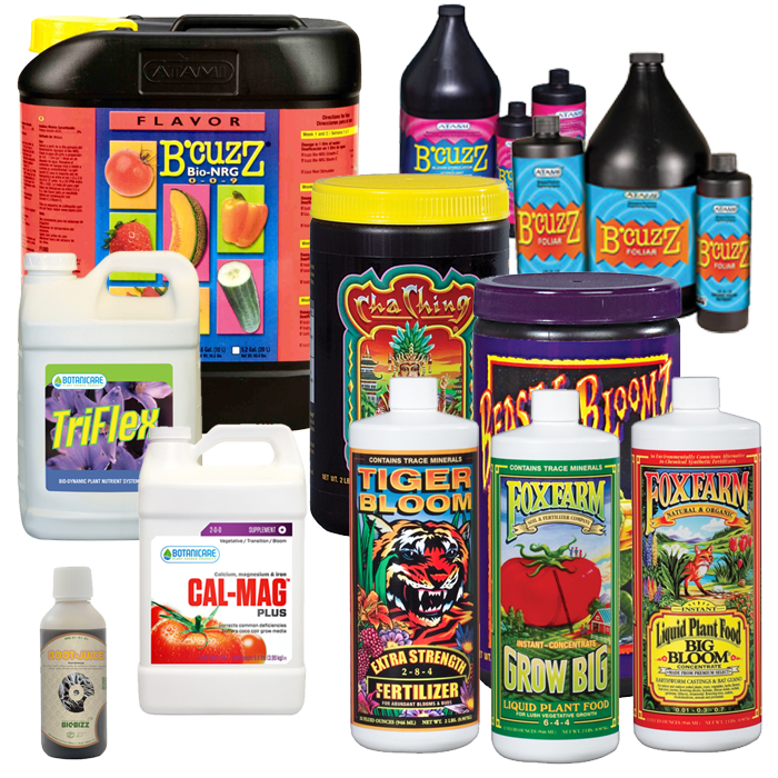 Indoor Growers World - Nutrients, Fertilizer, Supplements, Additives for Plants