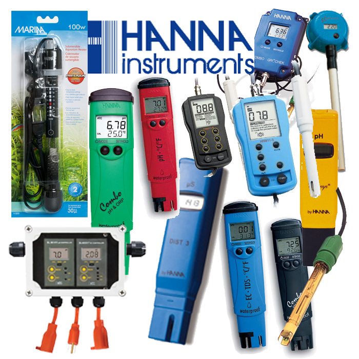 Indoor Growers World - ph Meters, EC meters, tri-meters, BlueLab, H&M, Hanna