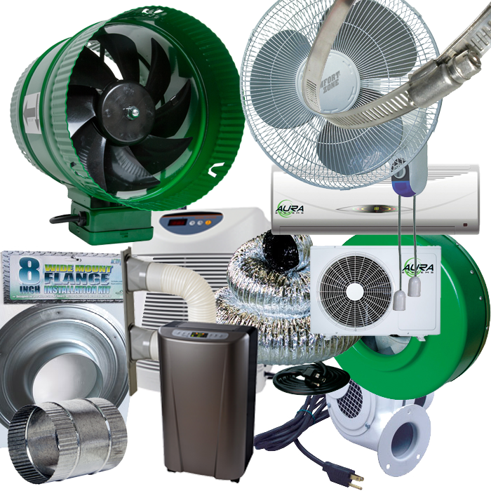 Indoor Growers World - Fans, Filters, Ventilation Supplies, HVAC, Air Conditioning, Dehumidifiers