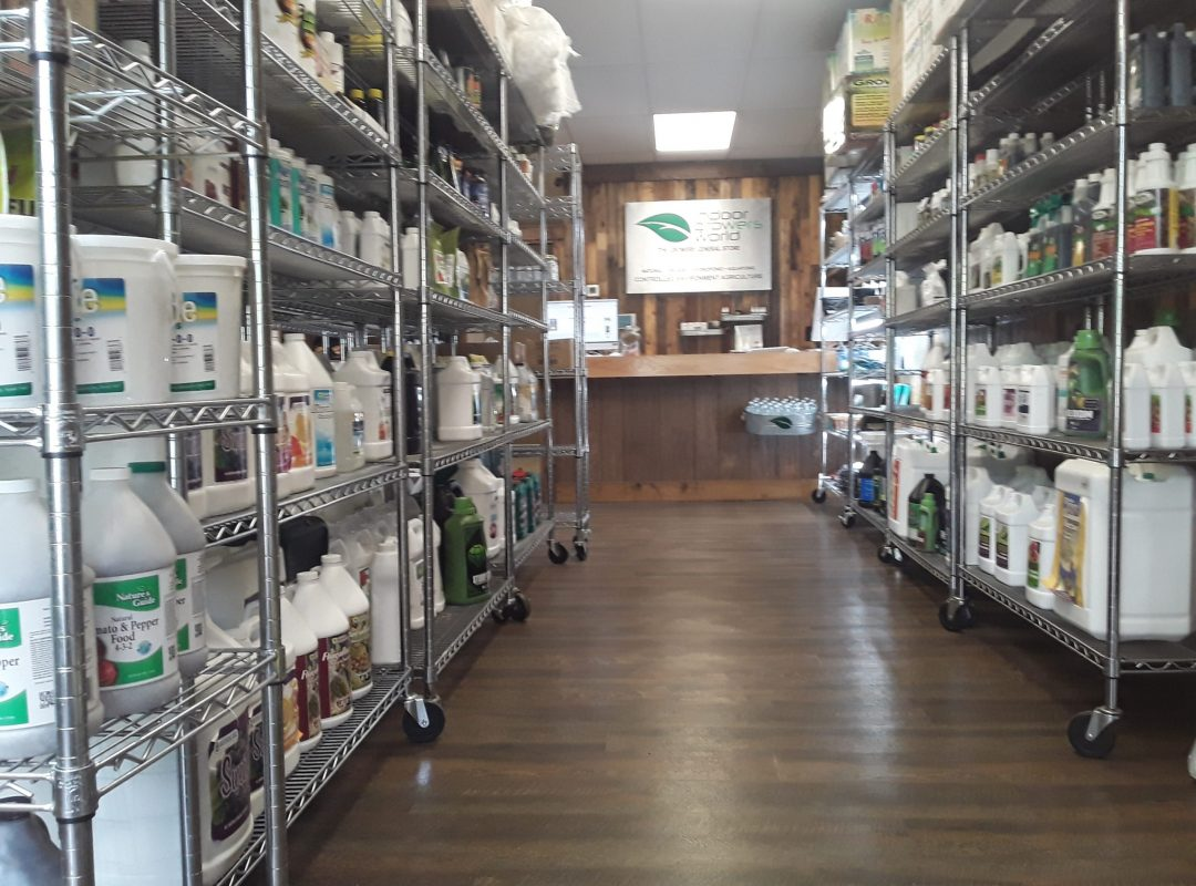 Indoor Growers World - Nashville TN - The Super Source for Hydroponics, Aquaponics, Urban Farmers and Controlled Environment Agriculture
